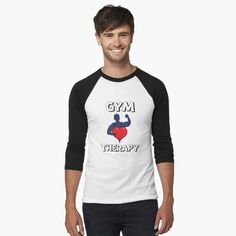 'Gym Therapy & Graphic Design With Big Heart' T-Shirt by Black Christmas, Christmas Design, Funny Christmas, Nightmare Before Christmas, Tennis, Manga Raglan, Athletic Looks, Penguin S, Cute Snowman