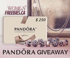 Win a PANDORA Gift Card