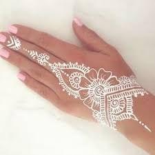 """Résultat de recherche d'images pour """"white henna"""""""