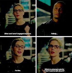 Arrow - Diggle & Felicity #4.16 #Olicity