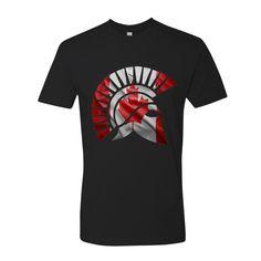 Molon Labe Canadian Spartan T Shirt