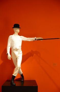 Disfraz de Alex de Naranja Mecánica de la exposición KUBRICK en el LACMA (vía Cupcakes and Cashmere)