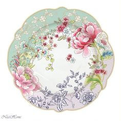 Nice Home - dodatki w dobrym stylu ,1184 Chinoiserie, Vintage Cups, Vintage China, Ceramic Clay, Ceramic Painting, Beautiful Flower Drawings, Art Nouveau Flowers, Elegant Table Settings, China Patterns
