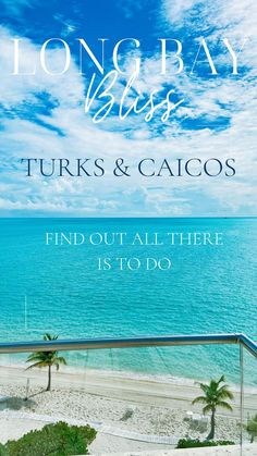 Hotels And Resorts, Luxury Hotels, Sky Sea, Group Travel, Turks And Caicos, White Sand Beach, Ultimate Travel, All Over The World, That Way