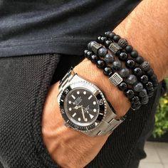 """Rolex Submariner x @shopzenger bracelets - Chubster's choice Men's Watches - Watches for Men ! - Coup de cœur du Chubster Montre pour homme ! #chubster #barnab #watches #watch #jewelry #fashion #fatshion #montres #rolex #seiko #montre #tissot #luxuary #pornwatch #timepiece"