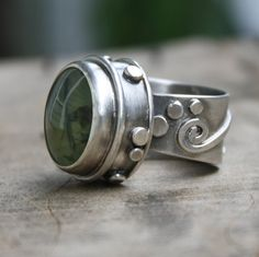 mermaid ring by jessitaylor on Etsy