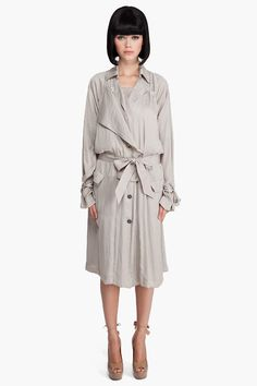 Relaxed Trench Coat by Lanvin