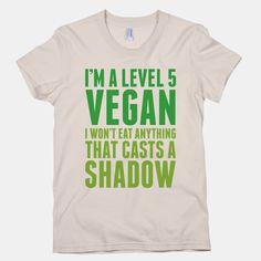 Level 5 Vegan Tee / T-Shirt Unisex