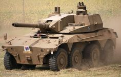 Rooikat Armoured Reconnaissance Vehicle - South African