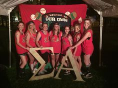 Fall Bid Day at LSU- A League of Our Own⚾️