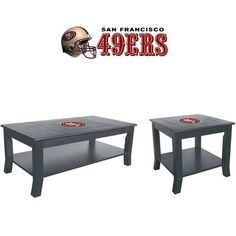 Use this Exclusive coupon code: PINFIVE to receive an additional 5% off the San Francisco 49ers Table Set at SportsFansPlus.com