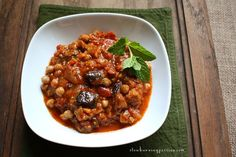 Know, dear reader, that there exists in the world an amazing vegan eggplant and chickpea stew concoction called maghmour, the moussaka of Lebanon. Unless you're from Lebanon or a neighboring middle eastern country, it's a dish you've probably never heard of. That stops today. You need to know about this stuff because it's delicious, and simple, and you'd be a happy person if you simply made and ate maghmour all the time.