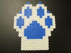 Aurora's paw - perler beads by cobalt-bow.deviantart.com on @DeviantArt