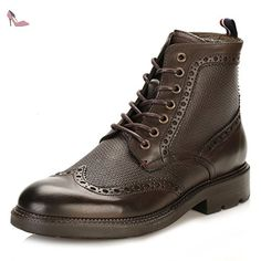 Tommy Hilfiger Hommes Coffee Bean 5A2 Brogue Bottes-UK 8 - Chaussures tommy hilfiger (*Partner-Link)