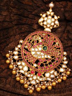 Ahhhmazing Indian #Jewelry w/ #Kundan / Polki rough #Diamonds <3