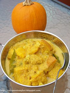 Kitchen Simmer: Pumpkin Curry-Mild (Sri Lankan Style)