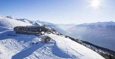 BERLIN – Perched atop the snow-laden slopes of Crans-Montana, with panoramic views of the Rhone Valley and the majestic Alps, Chetzeron Montana, Swiss Miss, Hotel Restaurant, Seen, Hotel Reservations, Alps, Switzerland, Mount Everest, Skiing
