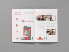 구세군 자선냄비본부 연차보고서 2014 Leaflet Design, Graph Design, Book Design, Layout Design, Print Design, Book Layout, Page Layout, Editorial Layout, Editorial Design