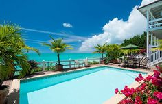 Sunset Point Oceanfront Villa, Turks and Caicos Villa