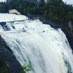 #montmorencyfalls #beautiful #falls #explore #quebec #canada #explorecanada #iphonephotography #travelphotography #tourist #quebectourism Quebec, Niagara Falls, Canada, In This Moment, Photo And Video, Park, Beach, Nature, Travel