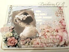 OOAK Present greeting card by CardsbyBarbaraGR on Etsy