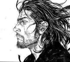 I find the artstyle of the manga really appealing and seems like the anime is doing justice Oni Samurai, Vagabond Manga, Samurai Artwork, Miyamoto Musashi, Traditional Japanese Art, Peace Art, Manga Artist, Drawing Reference Poses, Fan Art
