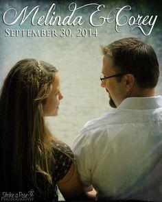 Melinda & Corey's Engagement Session, shot for Strike a Pose. 6/22/14