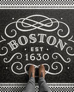 Boston Fauxsaic on Behance
