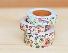 Gi Arte & Design: Diy - Decotape: fita adesiva de tecido