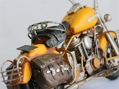 Model Sarı Custom Chopper - KLC import