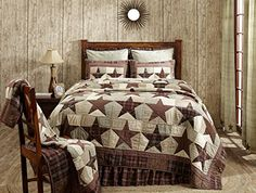 Abilene Star Queen Patchwork Star Quilt 94 x 94 *** You can get more details by clicking on the image.