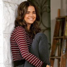 Maia Mitchell has a gorgeous smile. | The Fosters