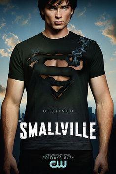 Smallville: Conoce 30 diseños de posters para series de TV: http://blog.luismaram.com/2013/04/30/30-disenos-para-posters-de-series-de-tv/