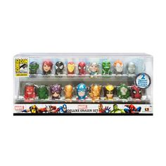 #Marvel Superheroes SDCC 2013 Exclusive Eraser Set