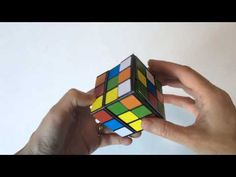 Printable Easy Paper Rubik's Cube DIY template to download