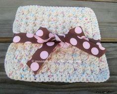 Set of 2 Handmade Eco-Friendly Cotton Dish Cloths #kitchen #crochet #handmade by MoomettesCrochet