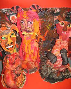ČERTI, PEKELNÉ BYTOSTI, 7. ročník, 11/2007 Painting, Art, Art Background, Painting Art, Kunst, Paintings, Performing Arts, Painted Canvas, Drawings