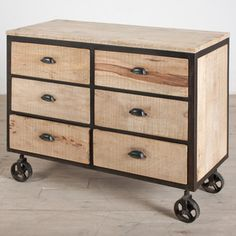 Dalhousie 6 Drawer Dresser now featured on Fab.