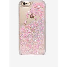 Skinnydip London Moving Hearts iPhone 6/6s Case (215 HKD) ❤ liked on Polyvore featuring accessories, tech accessories, phone cases, pink, silver glitter iphone case, iphone case, pink iphone case, silver iphone case and apple iphone cases