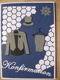 Hobby Bien Masculine Cards, Scrapbook Cards, Fathers Day, Inspiration, Guys, Men, Clothes, Logos, Dress Shirt