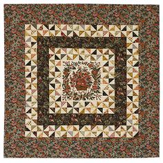 """The rumor that Joe """"the Quilter"""" Hedley had become wealthy as a professional quiltmaker in northern England may have led to his death at the hands of an unknown assailant in 1826. At least this is what Penelope Tucker of San Jose learned from North Country Quilts"""