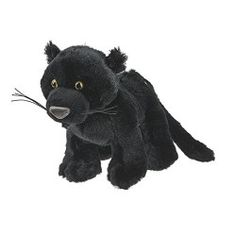 """Panther by Webkinz - HM791   Webkinz pets are very special plush animals. Each Webkinz pet comes with a secret code that allows the owner to log into the website and adopt a virtual version of their pet. 8.5"""""""