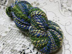 Handspun Polwarth Super bulky yarn AWAKENING 72 by BlackSheepGoods