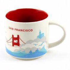 starbucks mug | ... MUGS) » Starbucks San Francisco You Are Here Collection Mug