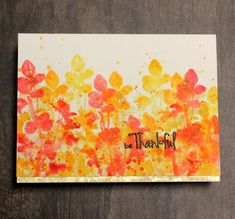 Signs of Autumn are beginning to appear as days become shorter, nights cooler and leaves turn on their colourful display. Cassandra here. Distress Ink, My Stamp, Watercolor Paper, Color Show, Magenta, Display, Cards, Painting, Ideas