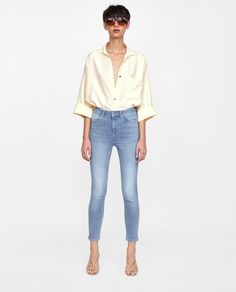 Image 1 of Z1975 HIGH WAIST JEANS from Zara