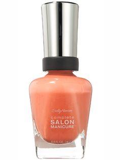 Sally Hansen Complete Salon Manicure in Peach of Cake Review: Makeup: allure.com