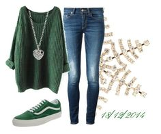 """""""18/12/2014"""" by apcquintela ❤ liked on Polyvore featuring Disney, Dondup, Vans, Finn, women's clothing, women, female, woman, misses and juniors"""