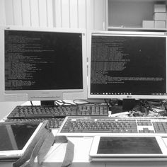 Something we loved from Instagram! #raspberry #raspberrypi #pc #screen #ipad #ssh #terminal #fun #work #relax by toomsander Check us out http://bit.ly/1KyLetq