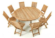 Dinning Tables And Chairs, Teak Dining Table, Outdoor Dining, Outdoor Chairs, Garden Furniture Sets, Teak Furniture, Outdoor Furniture Sets, Westminster Teak, Round Dining Set